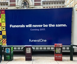 funeralone-truck-sign